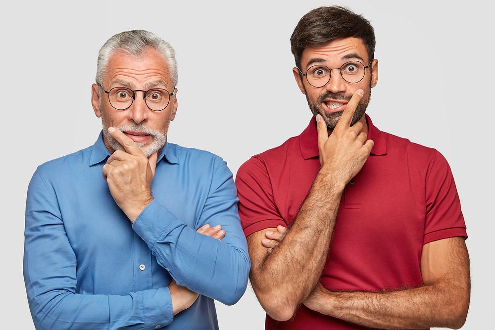 Geekbidz: Age discrimination goes both ways, senior and young.