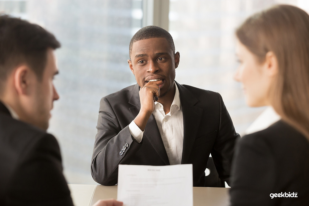 Answering interview questions is one of the most frustrating aspects - geekbidz