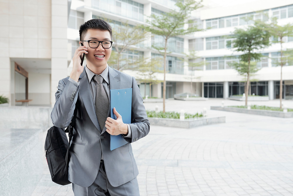 Make a call or email a thank-you note to the interviewer are good follow-up actions - geekbidz