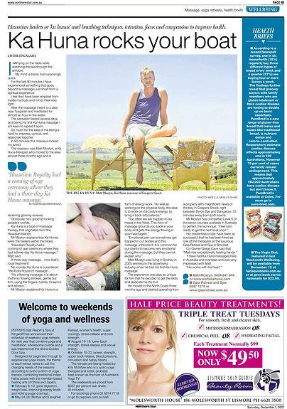 Ka Huna massage Brighton UK