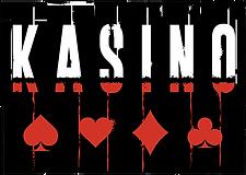 Kasino Logo Update LR RedAndWhiteOnBlack