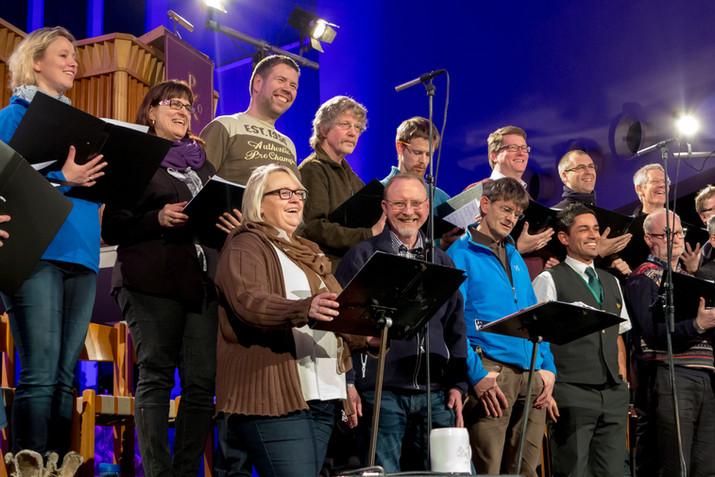 Nattjazz choir practice 2012