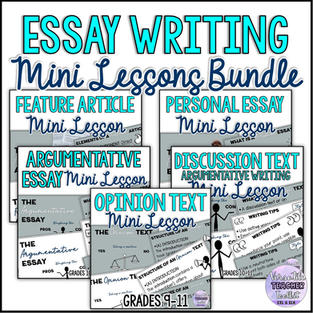 Essay Writing Lecture Notes Bundle