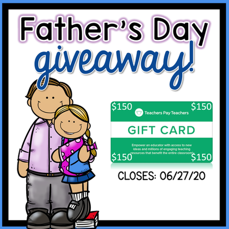 Father's Day GIVEAWAY 2020