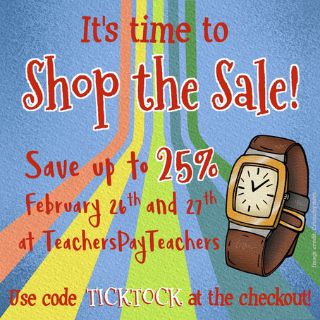 Shop the TpT Sale