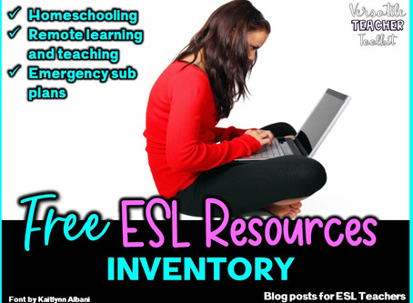 FREE ESL RESOURCES FOR LEARNERS AND TEACHERS