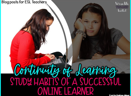 Study Habits of a Successful Online Learner