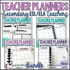 Teacher Planners Bundle