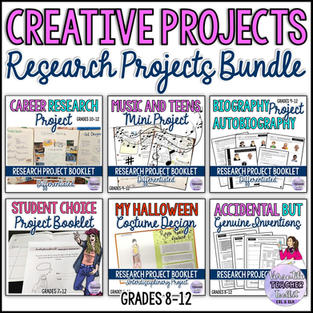 Creative Projects - Research Projects Bundle