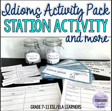 Idioms Activity Pack - Station Activity