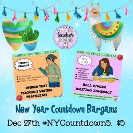 New Year Countdown Sale