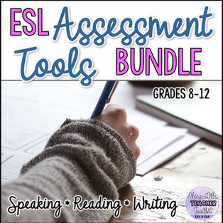 ESL Assessment Tools Bundle