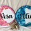 Thumbnail: Personalised Round Name Plaques