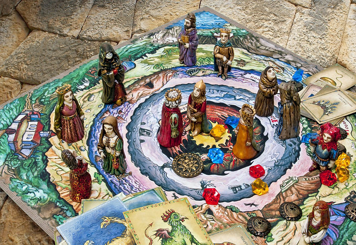 юнгианская игра мастер двух миров