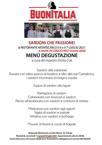BUONITALIA - Sardoni che passione!