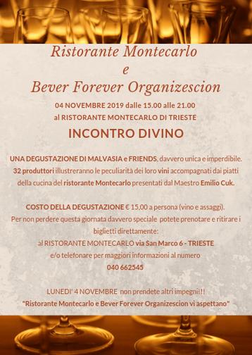 INCONTRO DIVINO - Malvasia and Friends
