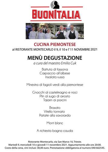 EVENTO BUONITALIA - Cucina Piemontese