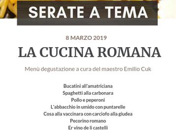 SERATE A TEMA - La Cucina Romana