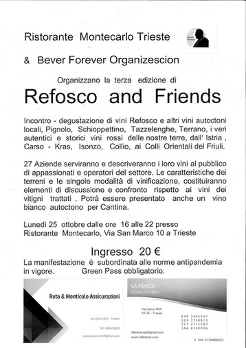 REFOSCO AND FRIENDS