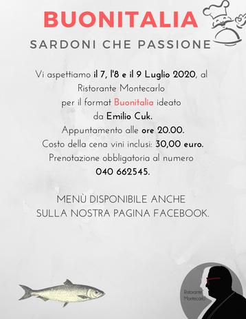 BUONITALIA - Sardoni che passione