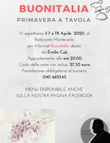 BUONITALIA - Primavera a Tavola