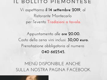 TRADIZIONI A TAVOLA - il Bollito Piemontese