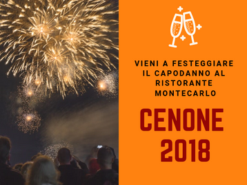 CENONE 2018 AL RISTORANTE MONTECARLO