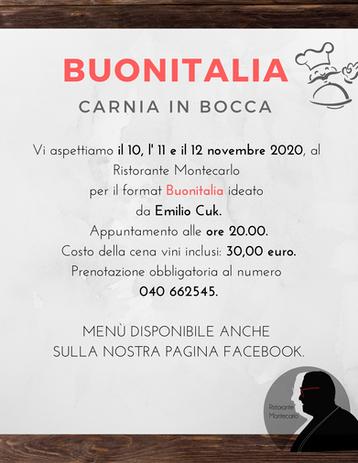 BUONITALIA - Carnia in bocca