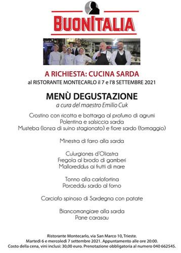 BUONITALIA - Cucina Sarda