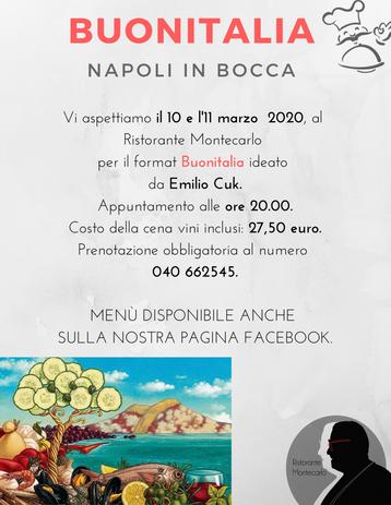 BUONITALIA - Napoli in bocca