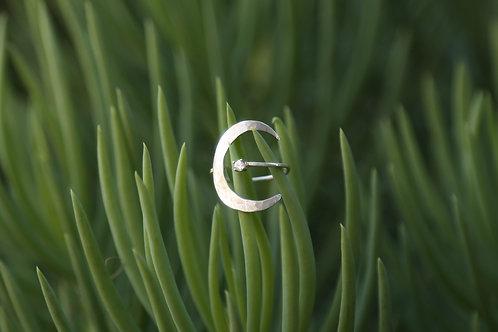 Silver Luna Ring