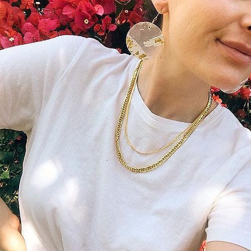 Abstract Shell Earrings