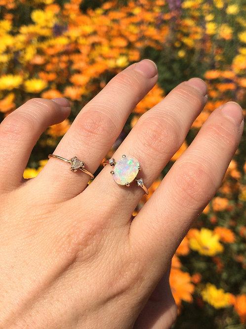 Opal Trio Ring