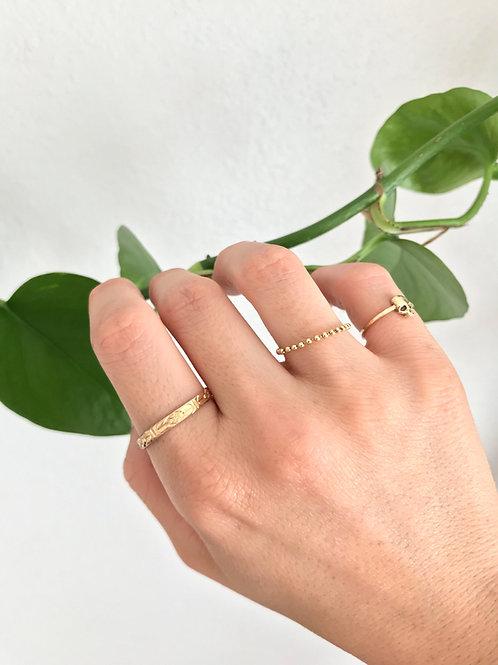 Floral Ring 14k