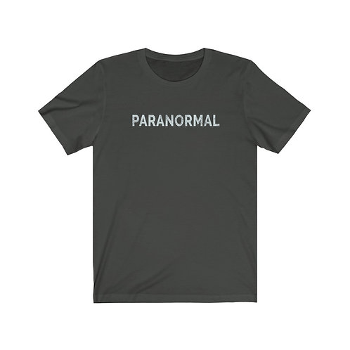 Unisex PARANORMAL Jersey Short Sleeve Tee