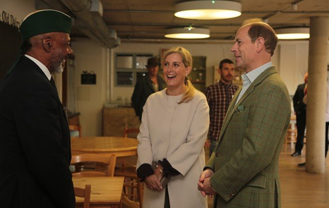 Royals Meet Community At Vauxhall City Farm