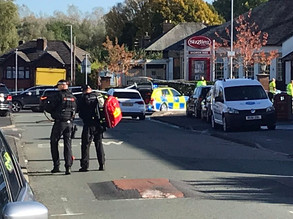 'Major police incident' amid serious crash on busy road - latest updates