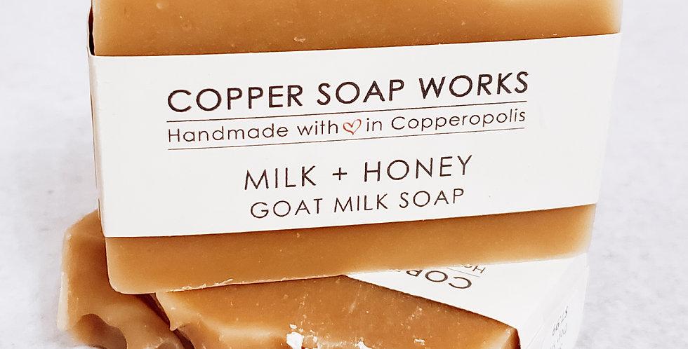 Milk + Honey Goat Milk Soap