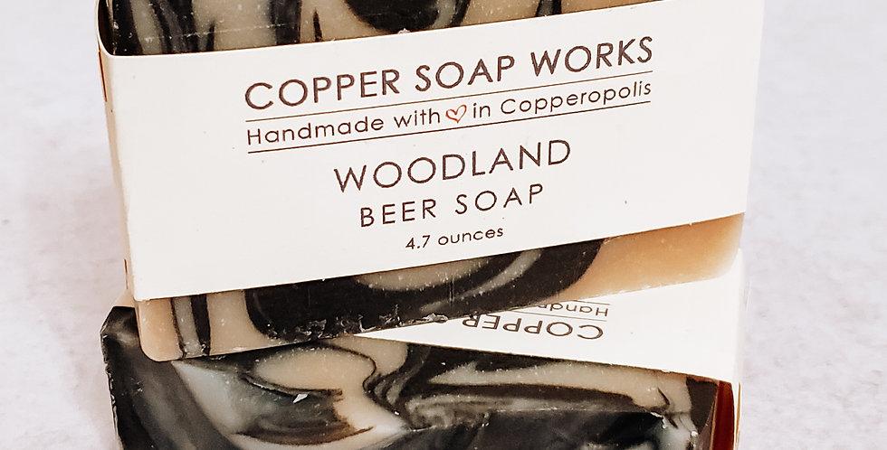 Woodland Beer Soap