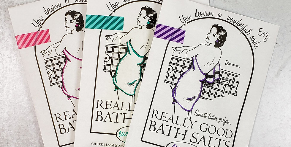 Really Good Bath Salts