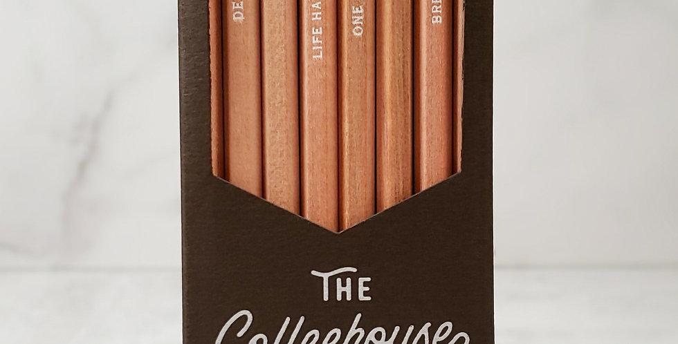 Coffeehouse Pencil Set