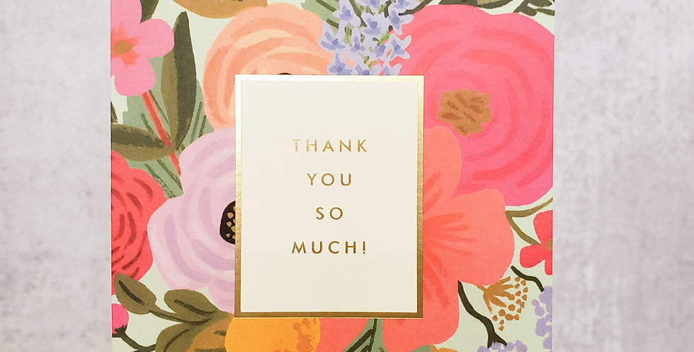 Garden Party Thank You Card Set