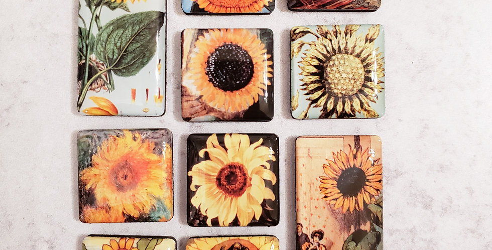 Sunflower Mighty Magnets