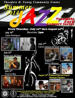 2014 Summer Jazz Concert Series