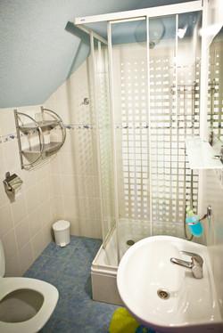 Kúpeľne v Penzióne Ždiar