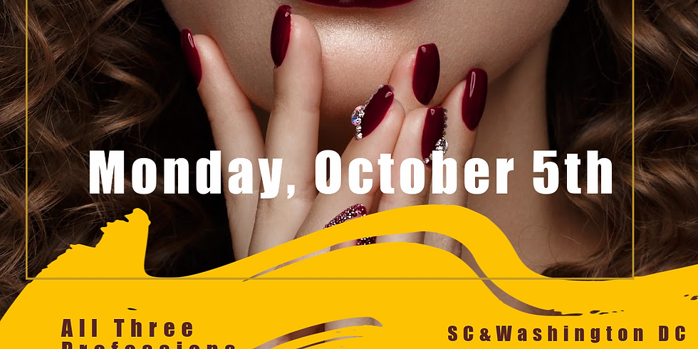 Oct. 5th Virtual CEU's Hair. Skin. Nails SC & Washington DC