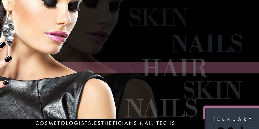 February 28th Zoom CE-Hair.Skin.Nails