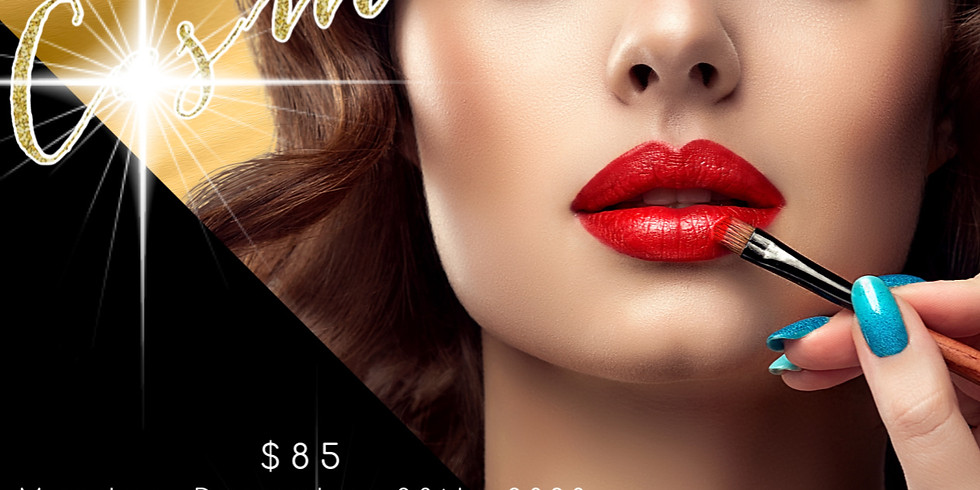 Dec. 28th  Virtual Cosmetology SC, Washington DC & Illinois CEU