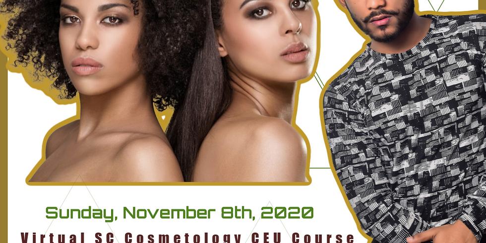 Nov. 8th Virtual Cosmetology SC, Washington DC CE Course
