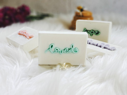 """loved"" Positive Words Soap (1BAR)"